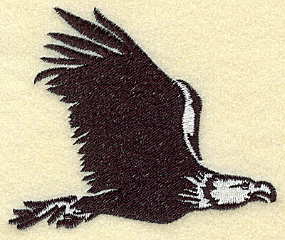 Embroidery Design: American Eagle in flight medium 3.83w X 3.20h