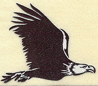Embroidery Design: American Eagle in flight large 4.97w X 4.15h