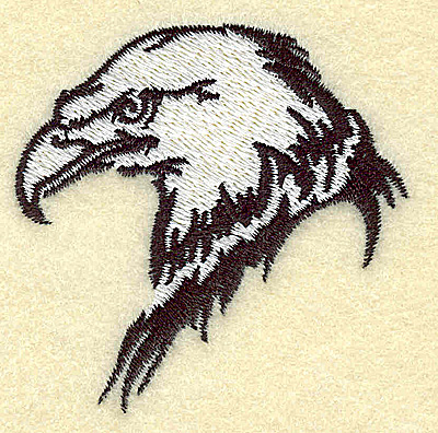 Embroidery Design: American Eagle head side view small 2.50w X 2.49h