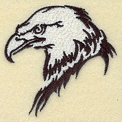 Embroidery Design: American Eagle head side view medium 3.25w X 3.24h