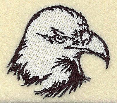 Embroidery Design: American Eagle head small 2.75w X 2.49h