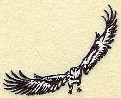 Embroidery Design: American Eagle small 3.87w X 2.95h