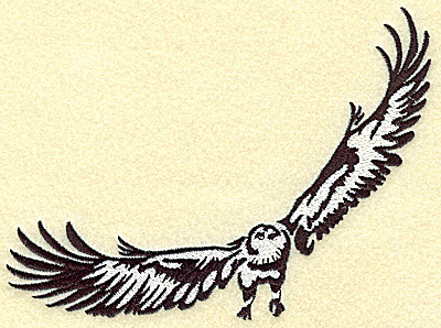 Embroidery Design: American Eagle large 6.43w X 4.91h