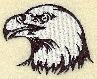 Embroidery Design: American Eagle head small 3.15w X 2.55h