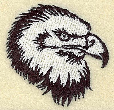 Embroidery Design: American Eagle head small 2.97w X 2.92h