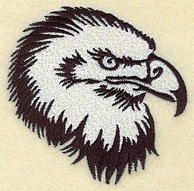 Embroidery Design: American Eagle head medium 3.85w X 3.79h