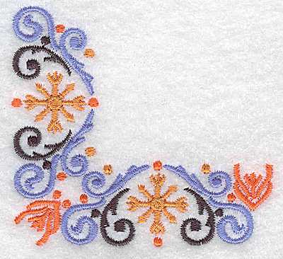 Embroidery Design: Corner 1 3.04w X 2.83h