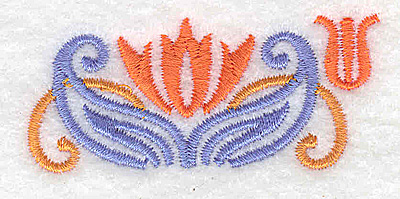 Embroidery Design: Mini border piece 2 2.47w X 1.08h