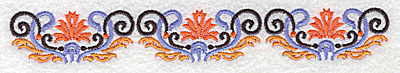 Embroidery Design: Border 3 6.95w X 0.98h
