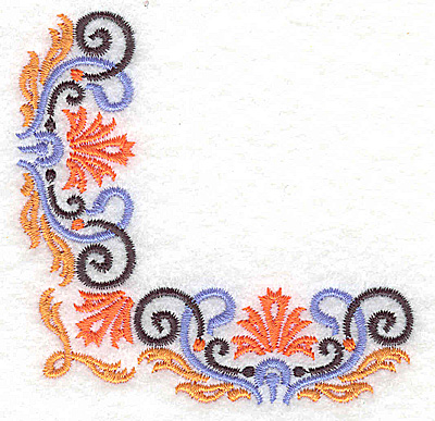 Embroidery Design: Corner 3 3.25w X 3.25h