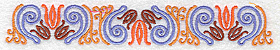 Embroidery Design: Border 4 6.97w X 1.08h