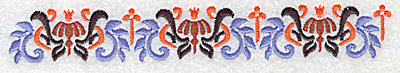 Embroidery Design: Border 7 6.92w X 0.98h