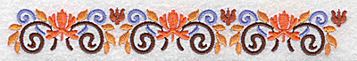 Embroidery Design: Border 9 6.96w X 0.98h