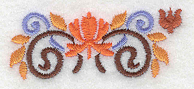 Embroidery Design: Mini border piece 9 2.41w X 0.98h