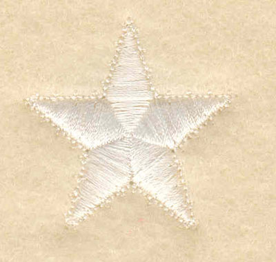 Embroidery Design: Star small1.25w X 1.25h