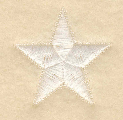 Embroidery Design: Star large 1.50w X 1.50h