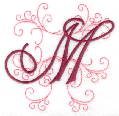 Embroidery Design: M large 4.97w X 4.97h