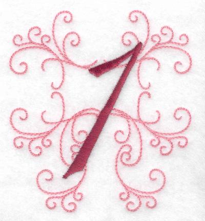 Embroidery Design: 1 small 3.48w X 3.88h