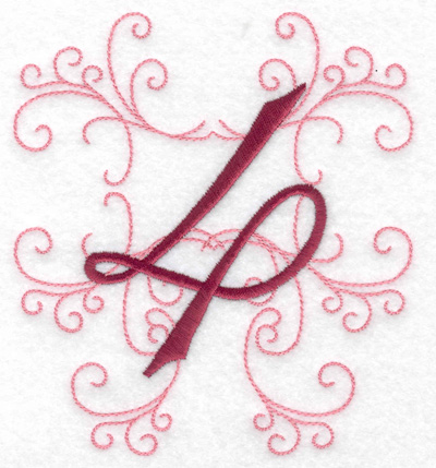 Embroidery Design: 4 large 4.46w X 4.97h