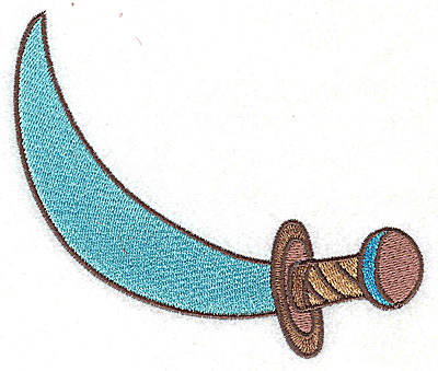 Embroidery Design: Cutlass large 4.98w X 3.97h