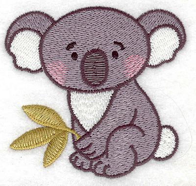 Embroidery Design: Koala 3.03w X 2.87h