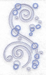 Embroidery Design: Air bubbles small 2.06w X 3.50h