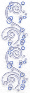 Embroidery Design: Air bubbles large 2.06w X 6.97h