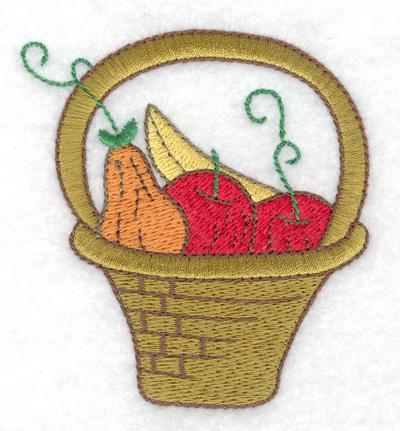 Embroidery Design: Bountiful basket 2.85w X 3.09h