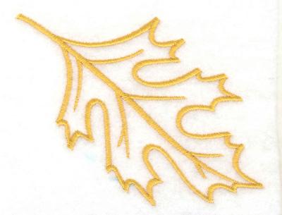Embroidery Design: Leaf 3.89w X 3.01h