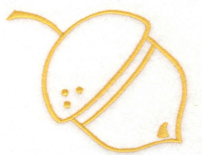 Embroidery Design: Acorn 3.56w X 2.87h