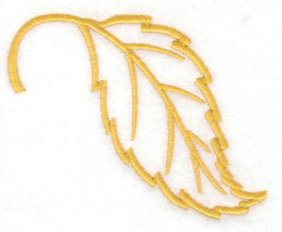 Embroidery Design: Beech leaf    3.63w X 2.86h