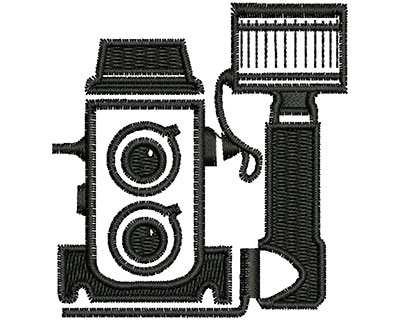 Embroidery Design: Vintage Camera 2.02w X 2.16h