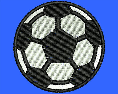 Embroidery Design: Soccer Ball 1.49w X 1.50h