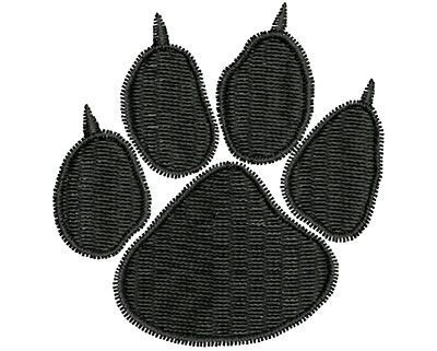 Embroidery Design: Pet Paw 1.89w X 1.96h