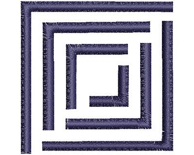 Embroidery Design: Square Symbol 2.08w X 2.09h