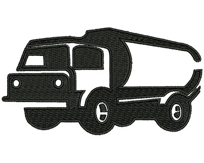 Embroidery Design: Truck 4.02w X 2.16h
