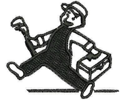 Embroidery Design: Handy Man Cartoon 2.50w X 2.19h