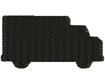 Embroidery Design: Truck Outline 1.98w X 1.01h