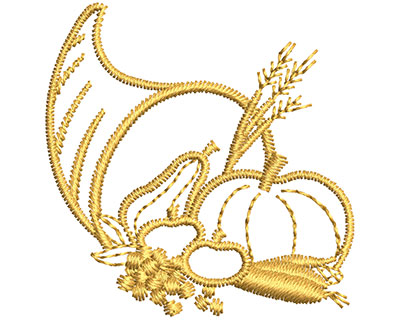 Embroidery Design: Harvest Embellishment  1.49w X 1.49h
