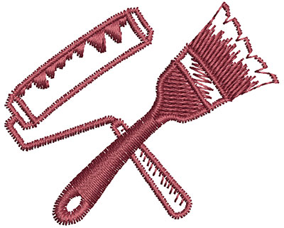Embroidery Design: Painting Tools 1.89w X 1.54h