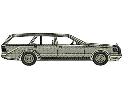 Embroidery Design: Car 4.86w X 1.30h