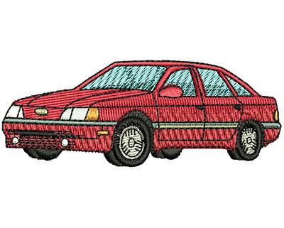 Embroidery Design: Car 3.14w X 1.20h