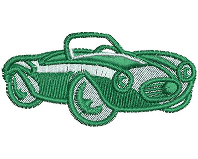 Embroidery Design: Convertible Cartoon 2.41w X 1.17h
