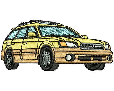 Embroidery Design: Car 2.87w X 1.31h