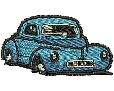 Embroidery Design: Vintage Car 2.68w X 1.47h