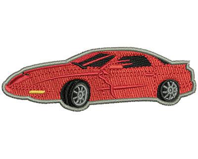 Embroidery Design: Sports Car 3.63w X 1.20h