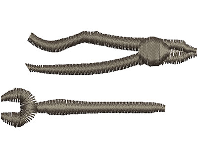 Embroidery Design: Wrench Tools 2.02w X 1.00h