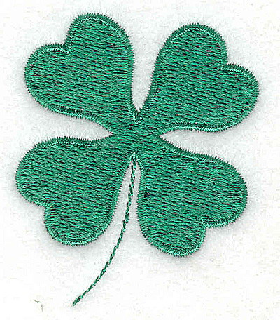 Embroidery Design: Shamrock 2.02w X 2.35h