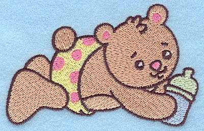 Embroidery Design: Baby Bear 3.82w X 2.44h