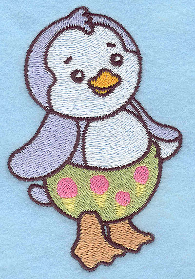 Embroidery Design: Baby Penguin  2.58w X 3.89h